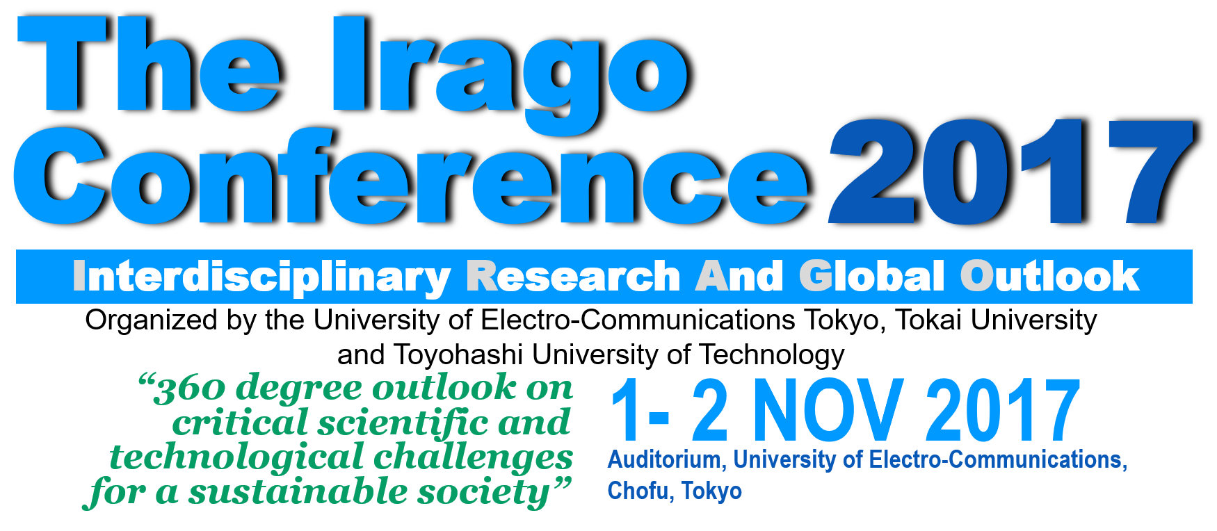 The Irago Conference 2016